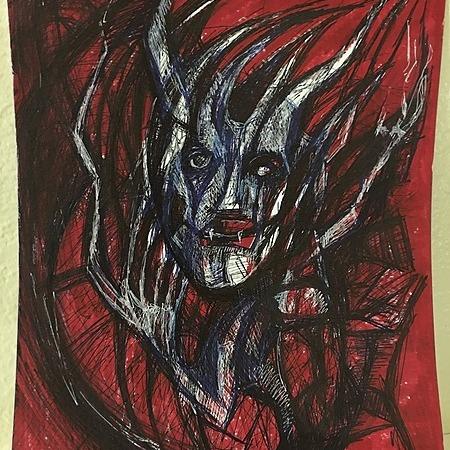 @TimOzman 9x12 ink on paper-- $33 Link Thumbnail | Linktree