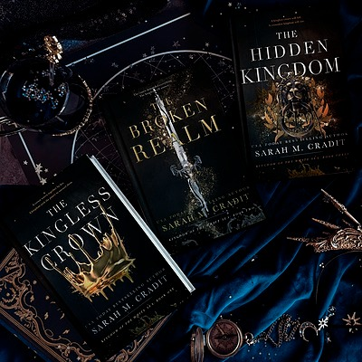 Author Sarah M. Cradit Signed Paperbacks and Hardcovers of Kingdom Link Thumbnail | Linktree