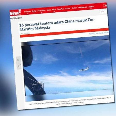 @sinar.harian Malaysia kemuka nota bantahan 16 pesawat China ceroboh ruang udara  Link Thumbnail | Linktree