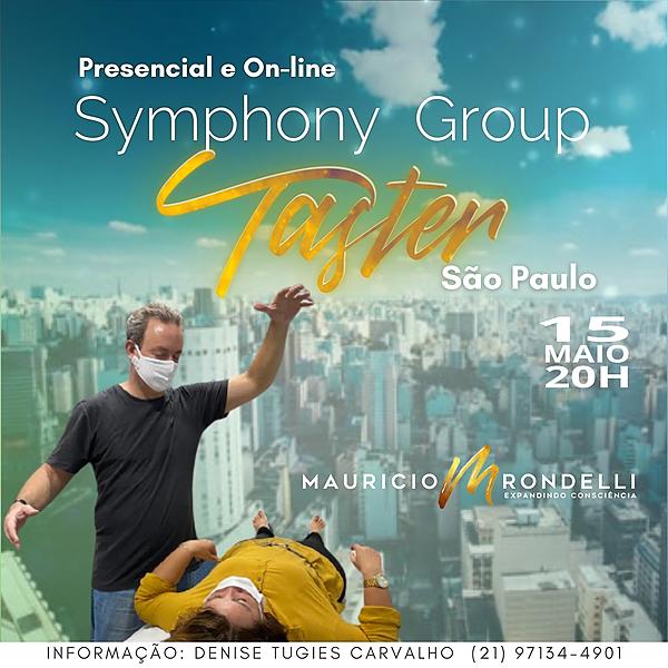 Symphony Group Taster- em São Paulo- Presencial e Online- 15/05 - 20h
