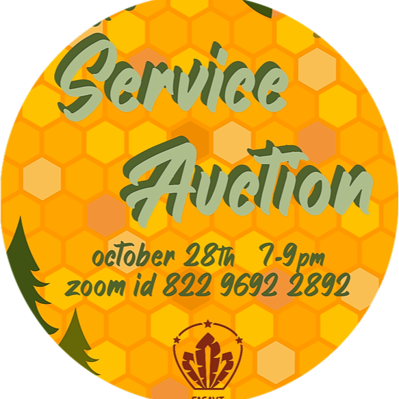 Service Auction Zoom Link (October 28th, 7-9PM)