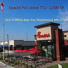 Maplewood Square Shopping Center (Spaces 712-2000 sf)