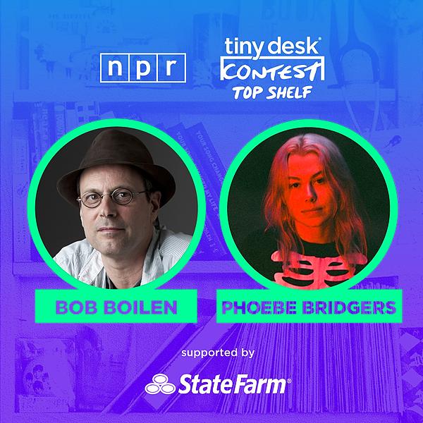 "Rascal Miles NPR Tiny Desk Top Shelf - PHOEBE BRIDGERS chooses favorite ""Tailor-Made"" Link Thumbnail | Linktree"
