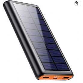 @parkitloveit QTShine Solar Powerbank 26800mAh mit USB-Kabel  Link Thumbnail | Linktree