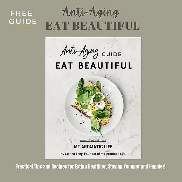 Eat, Oil, Live Beautiful Grab Free Anti-Aging Guide Link Thumbnail | Linktree