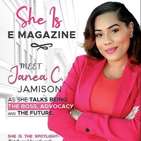 She Is E Mag June Print