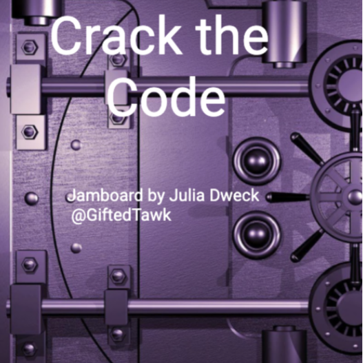 Crack the Code *Problem Solving Fun!