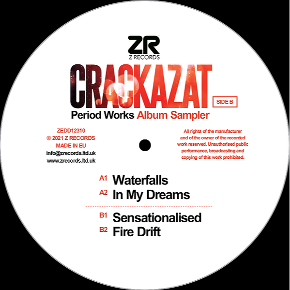 "@Zrecordsuk Crackazat – Period Works [12"" Album Sampler] Link Thumbnail | Linktree"