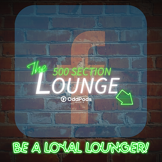 500 Section Lounge Podcast Facebook Community Link Thumbnail   Linktree