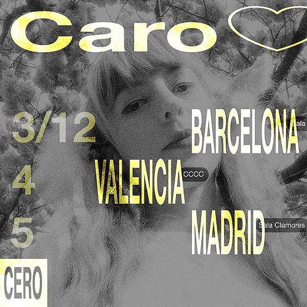 @cero.en.conducta Conciertos desde la cama : Caro <3 + Adios Adios en Valencia (04.12, CCCC) Link Thumbnail | Linktree