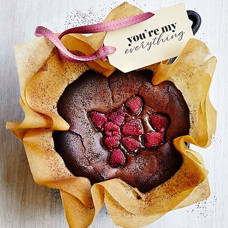 @donna.hay dark chocolate and raspberry basque cheesecakes Link Thumbnail   Linktree