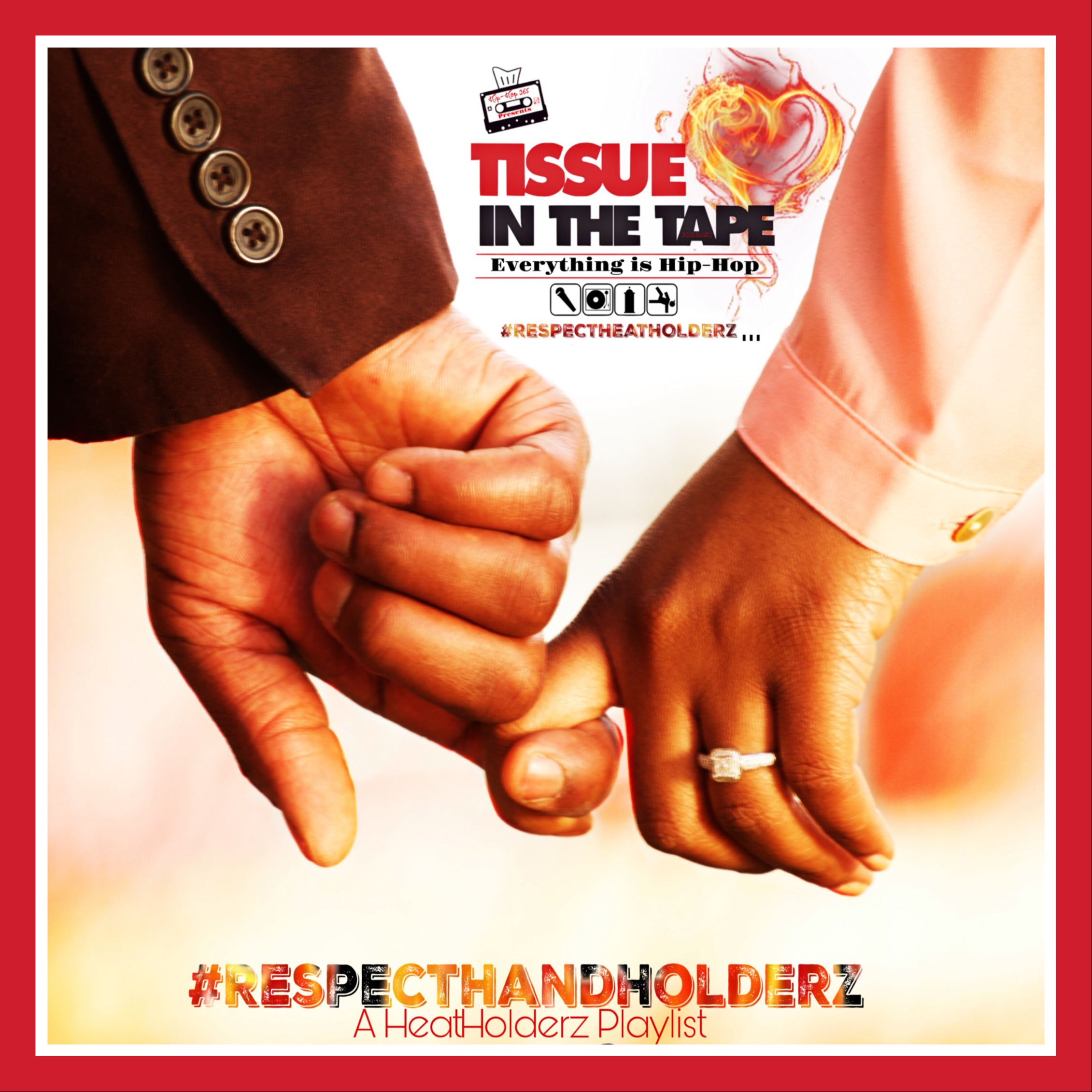 Tissue in The Tape Podcast #RespectHandHolderz ❤️ Link Thumbnail | Linktree
