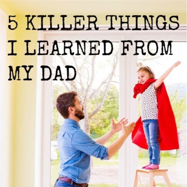 Top Dad Podcast 5 Killer Things I learned from my Dad Link Thumbnail   Linktree