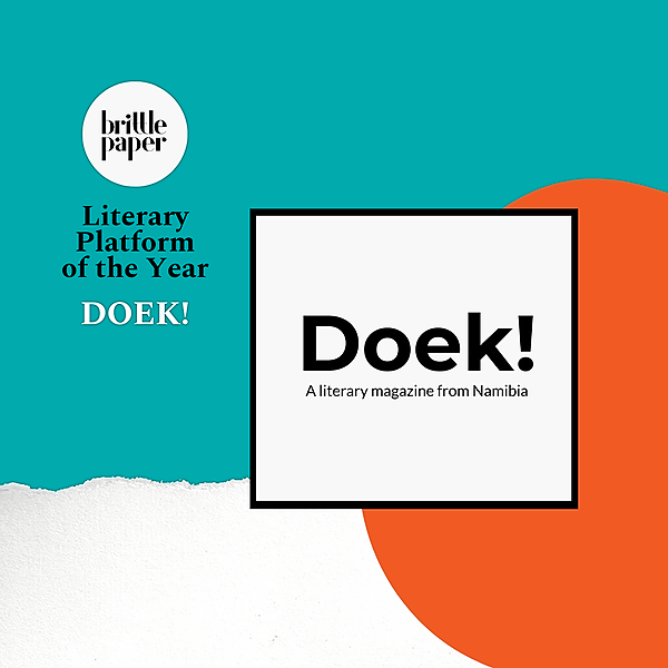 Doek!: Brittle Paper Literary Platform of the Year