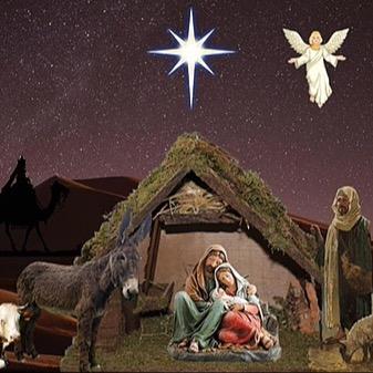 @RebeccaAllgeier Christmas slide - Christian Link Thumbnail | Linktree