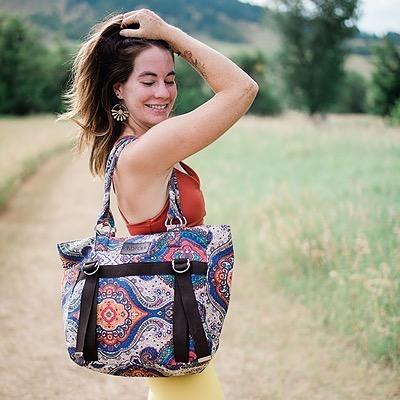 Clarissa Mae Be Kind Folk Yoga Bags! Code: CLARISSA15 Link Thumbnail | Linktree