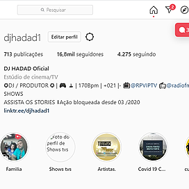 DJ HADAD Instagram Link Thumbnail | Linktree