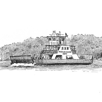 @paulheaston Madeline Island Urban Sketching Retreat Link Thumbnail | Linktree