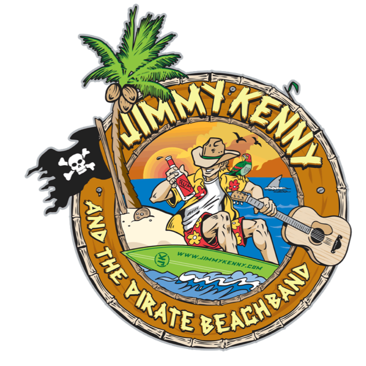 @rockonconcerts Sat 11/13 - JIMMY KENNY & THE PIRATE BEACH BAND - A Beach Party Tribute To Jimmy Buffett, Kenny Chesney, Zach Brown & More @ Six String Grill & Stage, Foxborough MA * Rescheduled - All tickets honored Link Thumbnail | Linktree