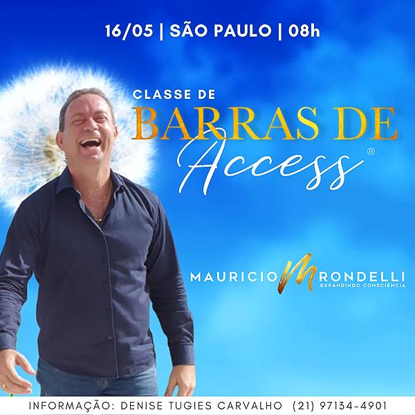 Barras de Access®- 16/05 - 08h