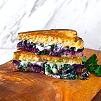 Blueberry and Basil Grilled Cheese Recipe
