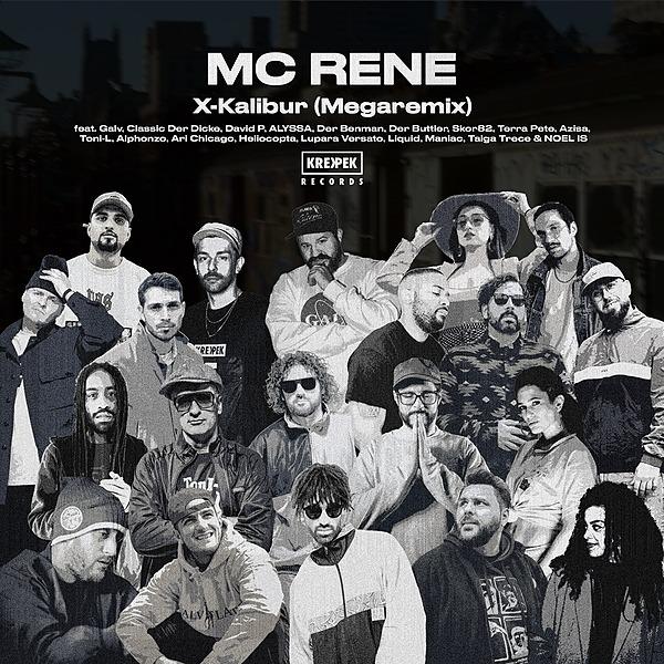 Krekpek Records MC Rene - X-Kalibur (Megaremix) Link Thumbnail | Linktree