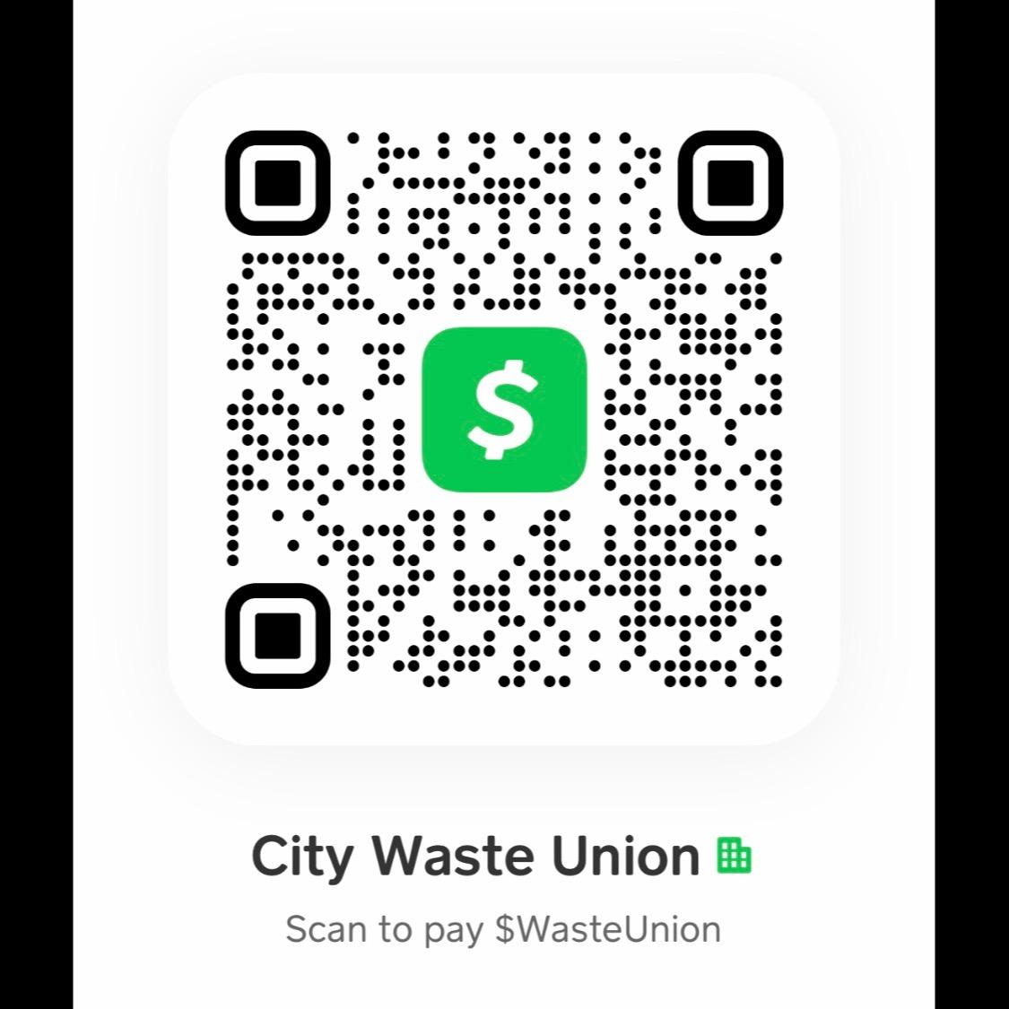 @CityWasteUnion Cash App Donations Link Thumbnail | Linktree