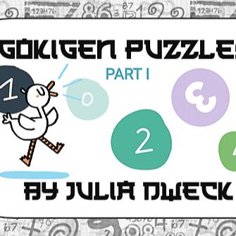 Gokigen Puzzles *Problem Solving - Making Connections
