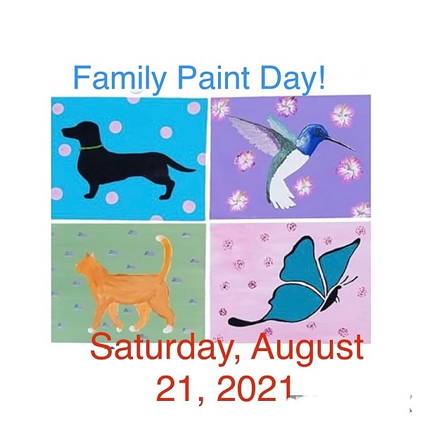 """""""Alpacas Make You Smile®"""" Family Paint Day Link Thumbnail 