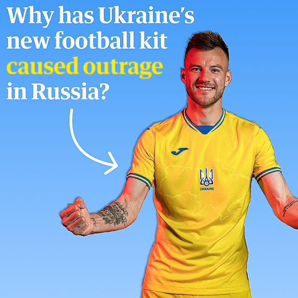@guardian Ukraine's football kit with map featuring Crimea causes outrage in Russia Link Thumbnail | Linktree