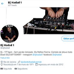 DJ HADAD TWITTER Link Thumbnail | Linktree