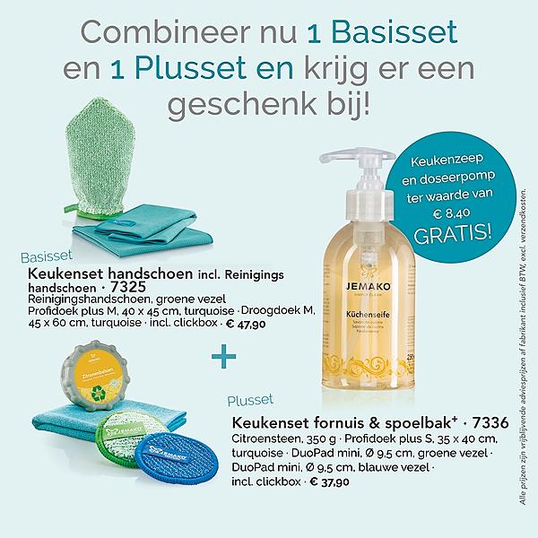 Welkom bij EnjoyCleaning Keuken: Basisset + Plusset = gratis handzeep Link Thumbnail   Linktree