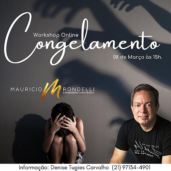 "Workshop ""Congelamento""- 08/03- 15h- Online"