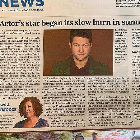 Actor.Traveler.Snacker🎬🌮 Jewish Light interview ✡️📝 Link Thumbnail   Linktree