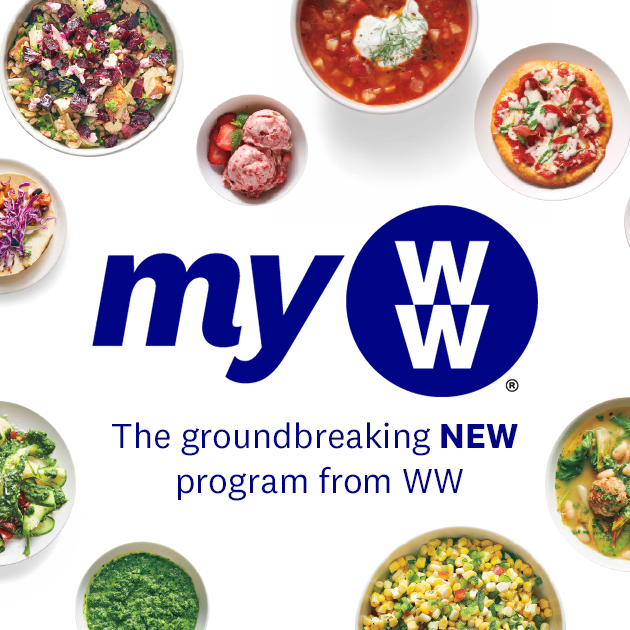 Introducing myWW™, the groundbreaking new program from WW.