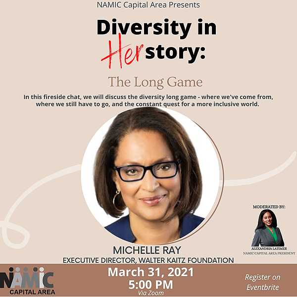 3/31-Diversity in HERstory: The Long Game with Michelle Ray