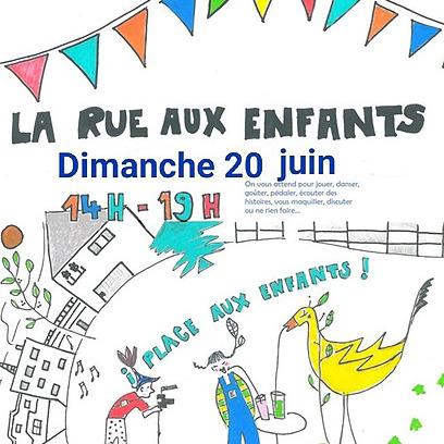 dimanche 20 juin - Place aux enfants -Place Salengro