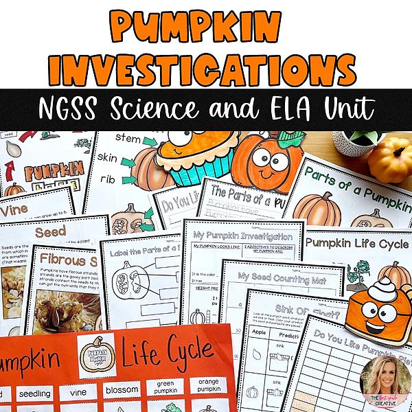 @thefirstgradecreative Pumpkin Investigations NGSS Science and ELA Unit Link Thumbnail   Linktree