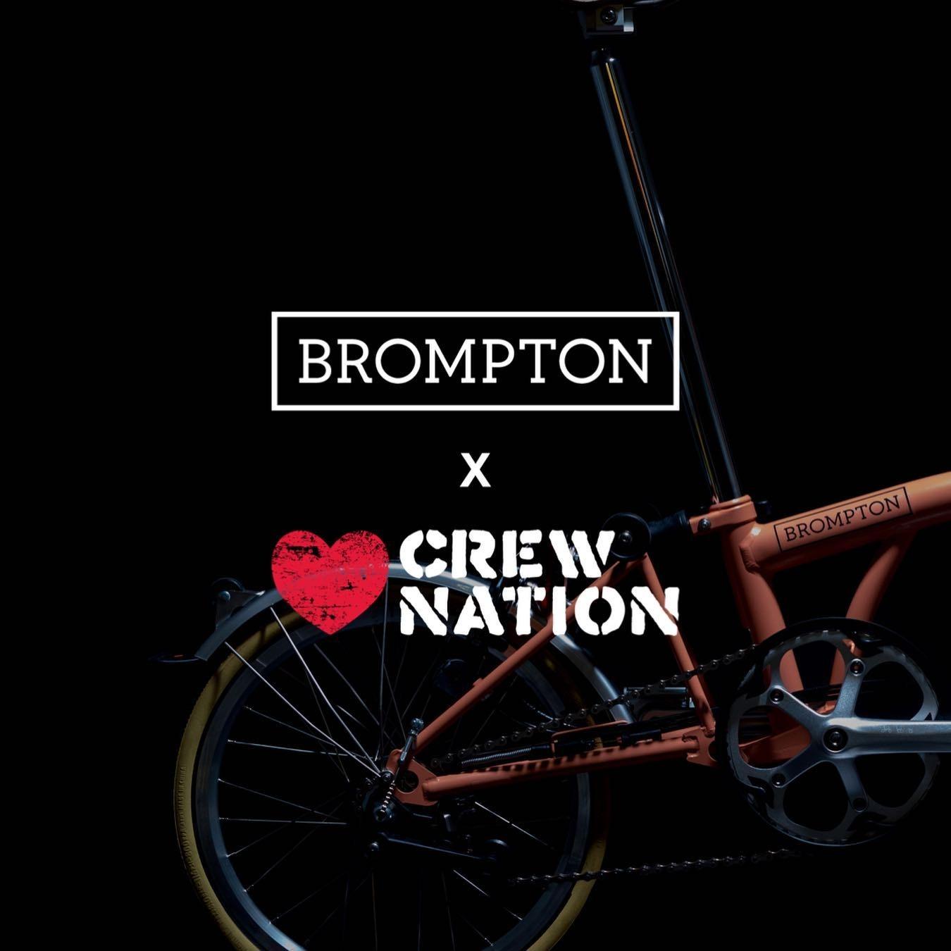 @khruangbin Bin Bin Bike by Brompton Bike x Crew Nation auction Link Thumbnail | Linktree