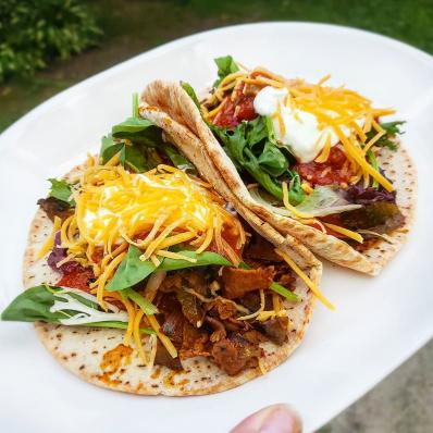 Roast Beef Fajita Taco Recipe