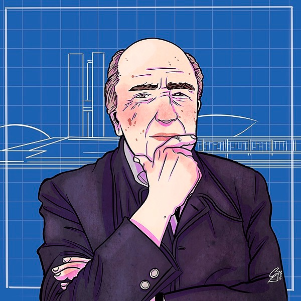 Dannati Architetti Podcast Ultimo episodio | Oscar Niemeyer Link Thumbnail | Linktree