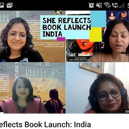 @BCPublishers She REFLECTS: Book Launch (India) Link Thumbnail | Linktree