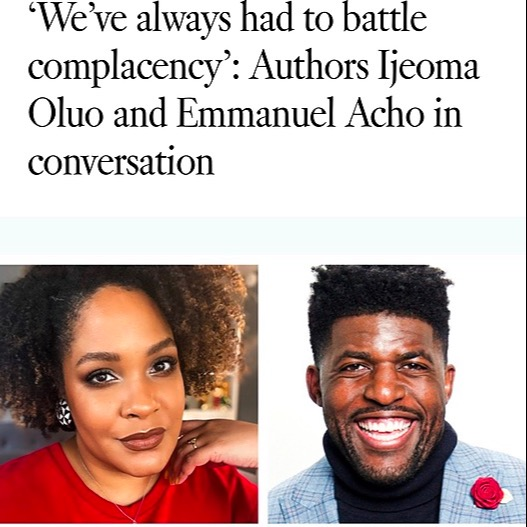Los Angeles Times: Ijeoma Oluo and Emmanuel Acho in conversation