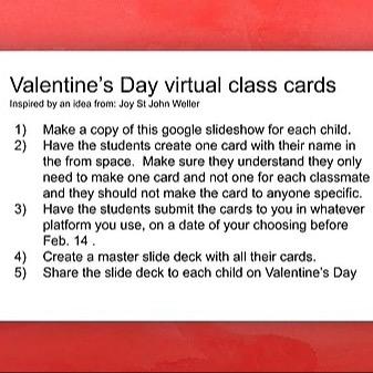 @RebeccaAllgeier Valentine's Day Virtual cards Link Thumbnail | Linktree