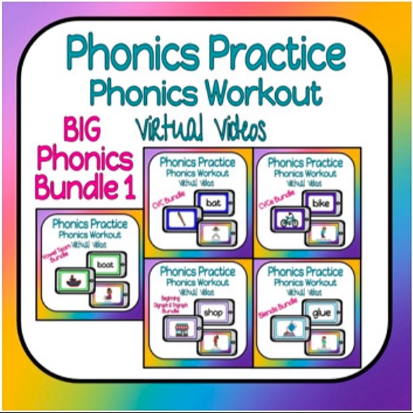 @thefirstgradecreative Phonics Practice Workout Video Bundle ONE Link Thumbnail   Linktree