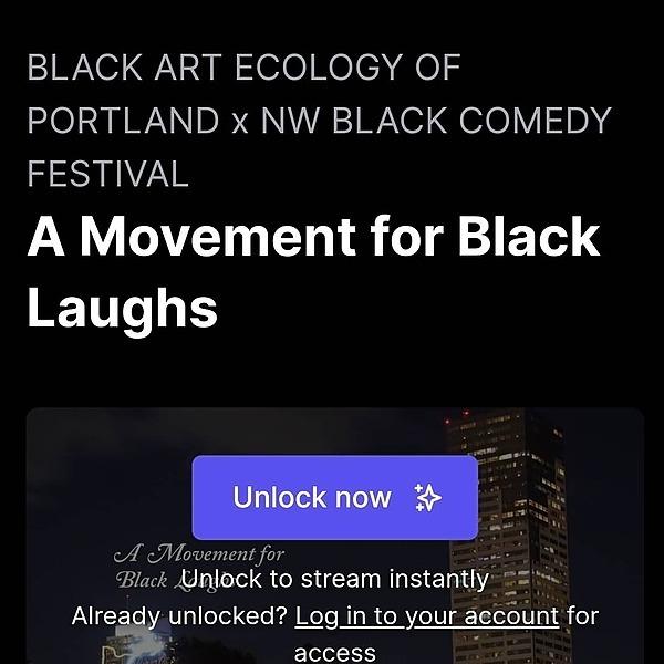 Mx. Dahlia Belle A Movement for Black Laughs Link Thumbnail   Linktree