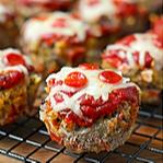 Pizza Meatloaf Muffins Recipe