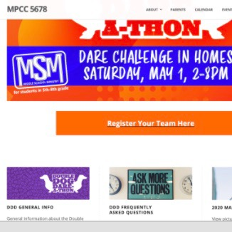 @5678parents Double Dog Dare-a-thon Information Link Thumbnail | Linktree