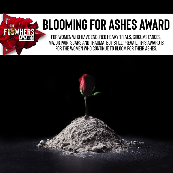 Blooming For Ashes AWARD