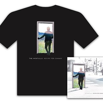 The Mentulls - T Shirt Items Pre Order 'Recipe For Change' CD & T Shirt Bundle Link Thumbnail | Linktree